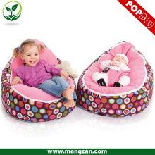 New design bebê lavável beanbag cama conforto bebê berço beanbag