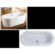 Upc Iapmo Approved Top View Freestanding Bath