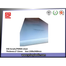 Extruded Clear ESD PMMA Sheet