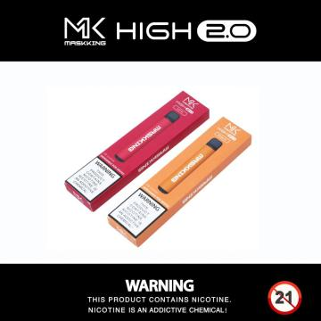Nouvelle-Zélande Maskking High 2.0 vape jetable
