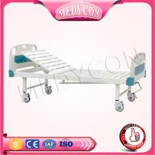 Einstellbare Krankenhaus einzigen Funktion Stahl manuelle erwachsene Bett