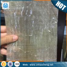 Malla de alambre micro tejida plateada fina de malla 100 con 99,99% de contenido de plata