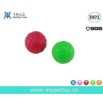 Brinquedo de bola de borracha para animais de estimação Brinquedo de cachorro estridente