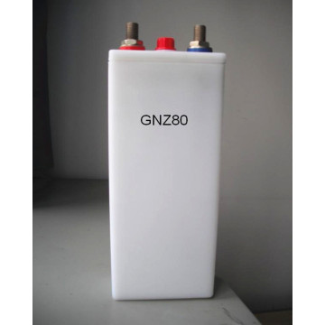80ah PP container medium rate nicd batterij