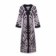 Latest women soft Polyester cheap Muslim spandex Polyester high fashion a abaya kimono
