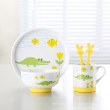 Горячая керамика детский набор посуды