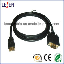 HDMI to VGA Adapter Cable Gold-Plated Connector