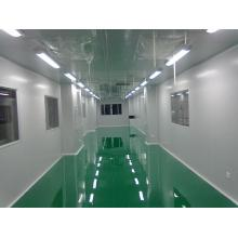 Sala limpa profissional com HVAC