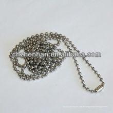 4,5mm * 6mm Metall Vorhang Kette mit Metall Perle Schnalle, Rollo Kette, Perle Kugelkette, Vorhang Zubehör, Rollo Komponente