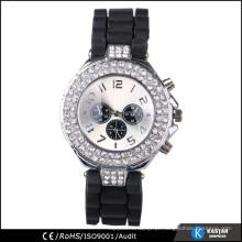 Relógio de pulso diamantado sintético 2015