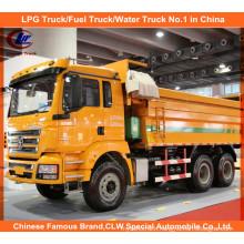 336HP Heavy Duty Shacman M3000 Dump Trucks for Loading Stone