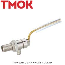 válvula de flutuador do nível de água do tanque de água pequeno de bronze