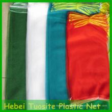 Bolsas de malla de embalaje de monofilamento de HDPE para frutas, vegetales, cebollas, papas, leña ...