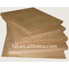 Panel de contrachapado de muebles de madera dura