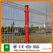 Clôture en treillis métallique soudé en PVC soudé