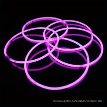 pink glow stick necklace