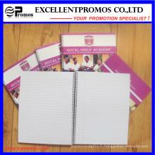 A5 Custom Spiral Notebook pour cadeau promotionnel (EP-B581401)