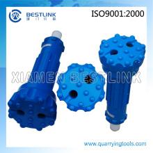 Hoher Luftdruck DHD350 Wasserbrunnen DTH Bits für den Bergbau