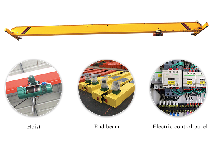 Single Beam Workshop Overhead Crane