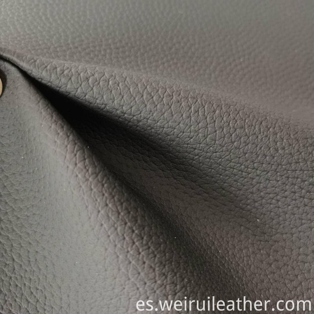 Pvc Leather Sofa Cloth Lychee