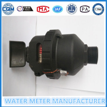 Compteur de débit volumétrique de nylon noir Materail