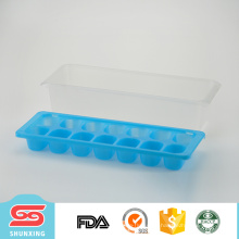 Guangdong personalizou a bandeja de gelo plástica do recipiente da grade do refrigerador para a venda por atacado