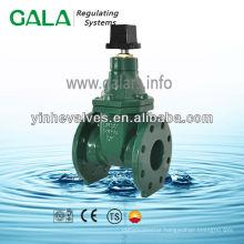 metal seated stem gate valve