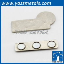 изготовление изготовленный на заказ металл золото бейдж магнит