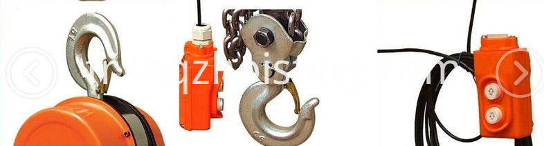 DHC chain electric hoist