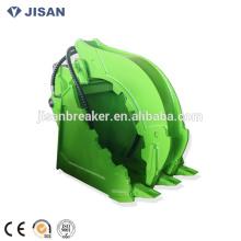 Hydraulischer Klotz-Greifer Greifer DLKS08 für 20-30 Tonnen-Bagger