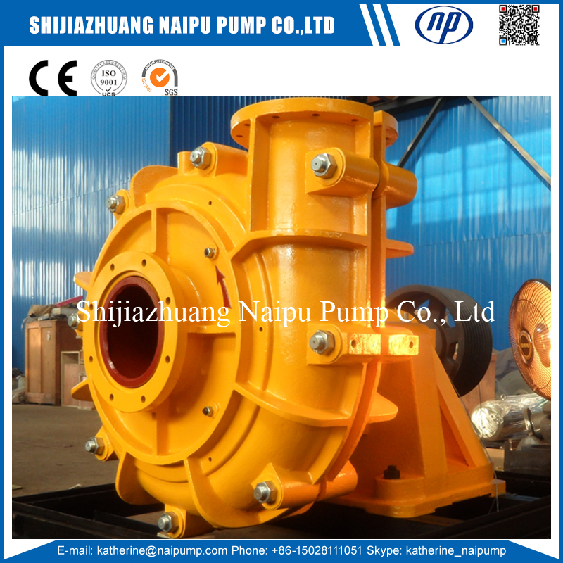 AH slurry pumps