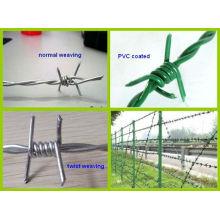 Высокое качество колючей проволоки/колючей проволоки/лезвия сетки/колючая проволока стренги