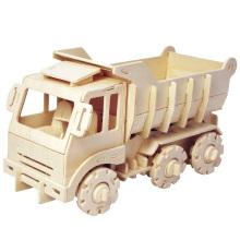 Бутик Бесцветные деревянные игрушки-грузовик