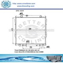 Kühler für Toyota Prado 95-98 KZN 1KZ AT OEM: 16400-67140 / 16400-67121