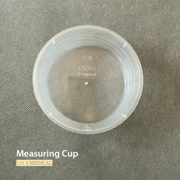 Trasparent Measuring Cup Medical Use 60 ml / 90 ml / 150 ml