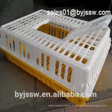 Cages de poulet en direct de prix concurrentiel au transport pour la ferme