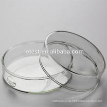 Laborglas Borosilikatglas Petrischale