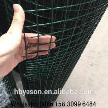 Mejor calidad barata jardín decorativo vallado soldado malla de alambre de rollo