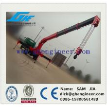 mobile telescopic boom truck mounted crane