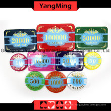 High-Grade Crow Poker Chip Set 760PCS (YM-SCMA002)