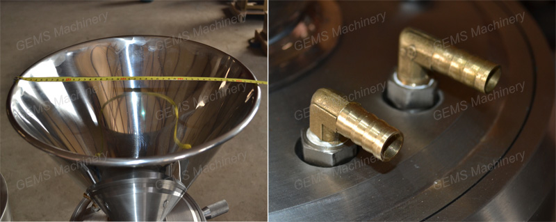 Industrial Hazelnut Nuts Grinder Mill Milling Machine