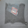 Premium Stainless Steel Chainmail Scrubber,Cast Iron Cleaner