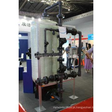 Sistema Multivalve de Alta Vazão para Sistema de Tratamento de Água Industrial