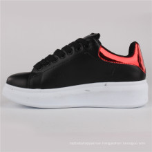 Women Shoes PU Injection Leather Shoes Casual Shoes Snc-65005