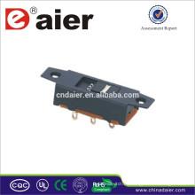 Interruptor deslizante eléctrico hecho en China SS22J03 smd mini interruptor deslizante