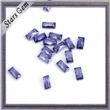 Различные цвета прямоугольник CZ камень для продажи