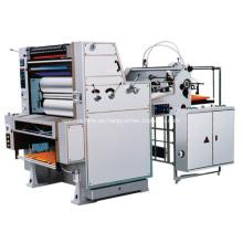Máquina de impresión Offset de pliegos