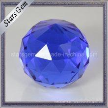 Bela Tanzanite Color Art Decoração Glass Ball