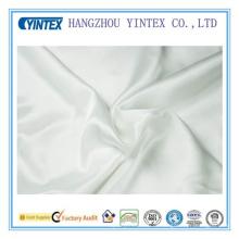 Белая многоцветная 100% Чистая шелковистая шелковистая таракановая ткань Твердое окрашенное полотно