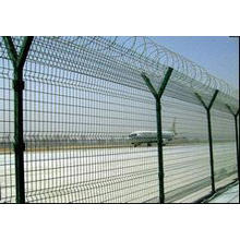 Galvanized New Designed Style Wire Mesh Steel Airport Fencing